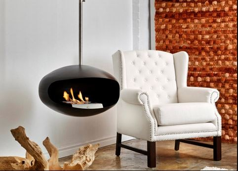 Cocoon Aeris Bioethanol Fire (Hanging Model)