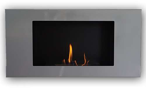 VALENCIA DELUXE Silver Bio Ethanol + 1 adjustable firebox