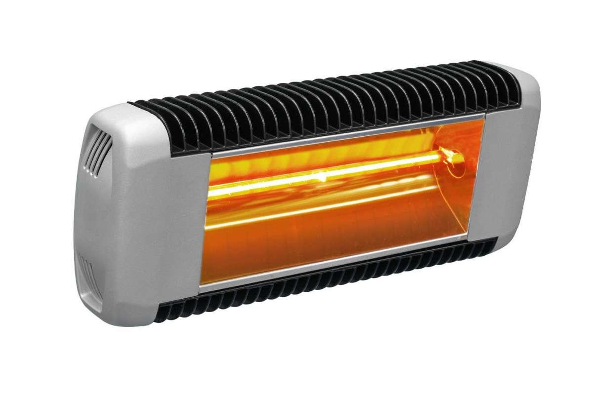 Varma Tandem Infrared IRK 2000W IPX5 Electric Heater for Patios, Varandas, Halls